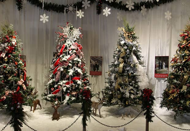 Reagan Library Christmas Trees Event